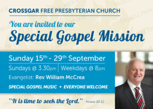 Your Invitation to our Gospel Mission